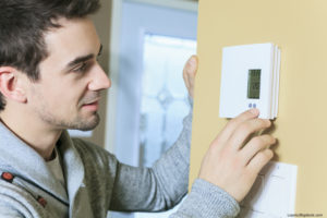 Programmable Thermostat Olathe Man