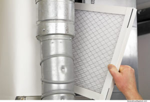 Changing Air Conditioner Filters in Olathe