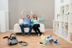 Spring Cleaning Olathe Couple